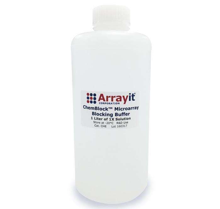 Arrayit ChemBlock™ Microarray Chemical Blocking Buffer